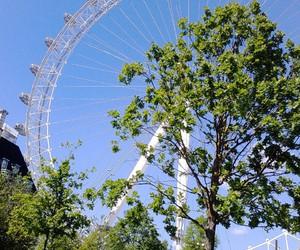 beautiful, london, and london eye image