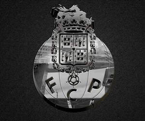 black and white, symbol, and fcporto image