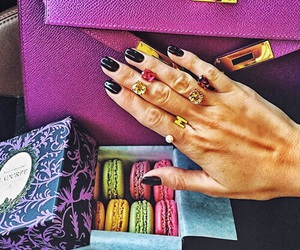 nails, rings, and hermes image