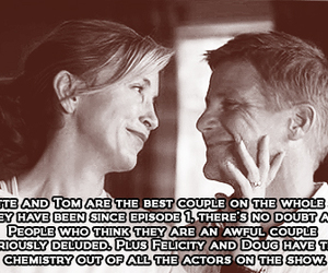 Desperate Housewives, lynette scavo, and tom scavo image