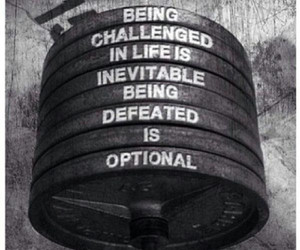 quote, challenge, and fitness image