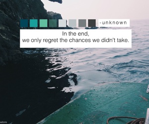 quote, blue, and grunge image