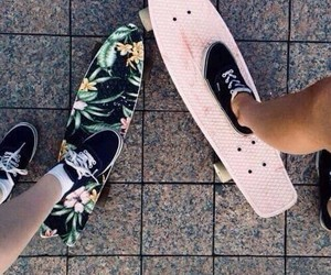 vans, skate, and summer image