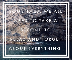 relax, quote, and true image
