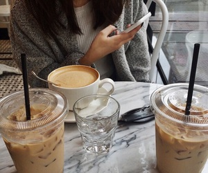 best friend, coffee, and date image