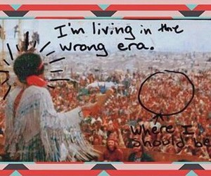 1969, festival, and hippie image