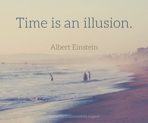 illusion, quotes, and time image