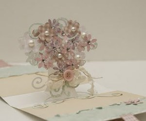 bouquet, craft, and flowers image