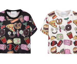 food and t-shirt image