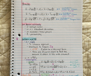 notes, study, and back to school image