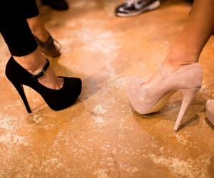 fashion, high heels, and party image