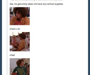 funny, Chad, and high school musical image