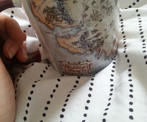 cup, lord of the rings, and middle earth image
