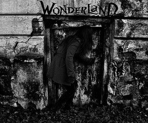 wonderland, alice, and door image