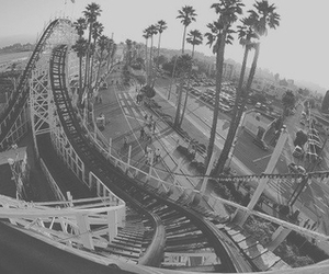 fun, Roller Coaster, and rollercoaster image
