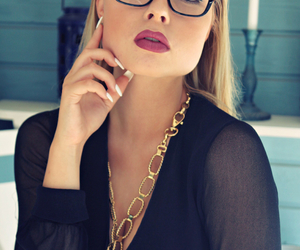 accessories, black, and blonde image