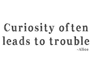 alice, curiosity, and disney image