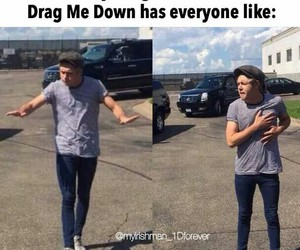 high notes, drag me down, and Harry Styles image