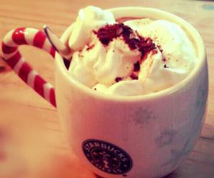 chocolate, starbucks, and christmas image