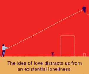 love, quotes, and loneliness image