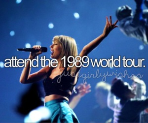 1989, concert, and Taylor Swift image