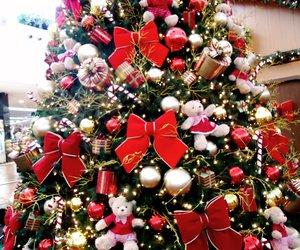 natal, santa claus, and tree image
