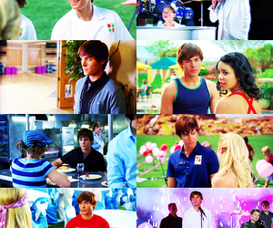 disney, high school musical, and zac efron image