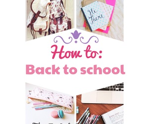 school and back to school image