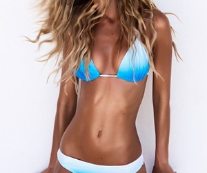 abs, blue, and healthy image