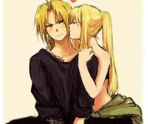 fma and edward and winry image