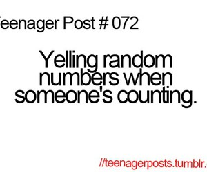 funny, quote, and numbers image