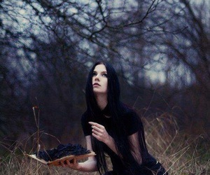 black, fantasy, and magic image