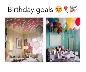 birthday and goals image