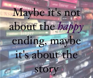 book, happy, and story image