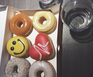 colors, donut, and donuts image