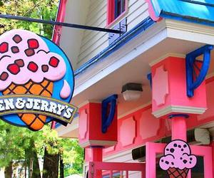 ice cream, pink, and tumblr image