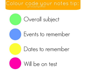code, colour, and study image