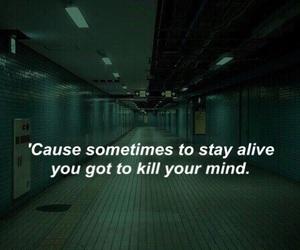 alive, kill, and life image