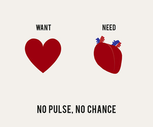 heart, need, and want image