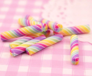 candy, colorful, and stick image