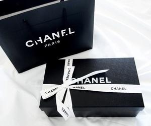 chanel, fashion, and black image
