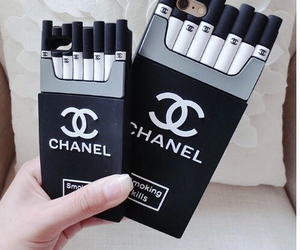 chanel, iphone, and cute image