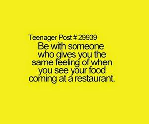 teenager post, food, and love image
