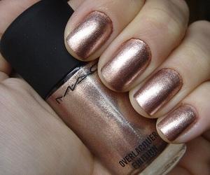 nails, mac, and gold image