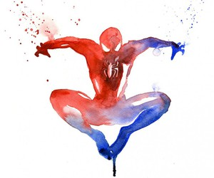 spiderman, Marvel, and art image