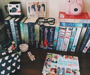 books, instax, and Taylor Swift image