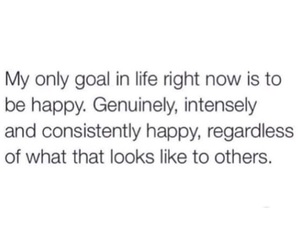 happy, quote, and goals image