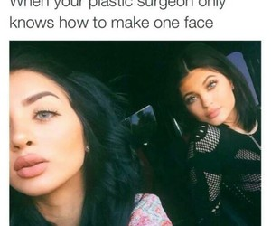 funny, lips, and memes image