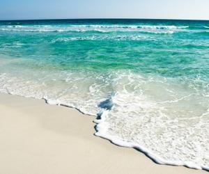 around the world, beach, and beautiful image