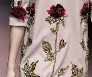 fashion, rose, and dress image